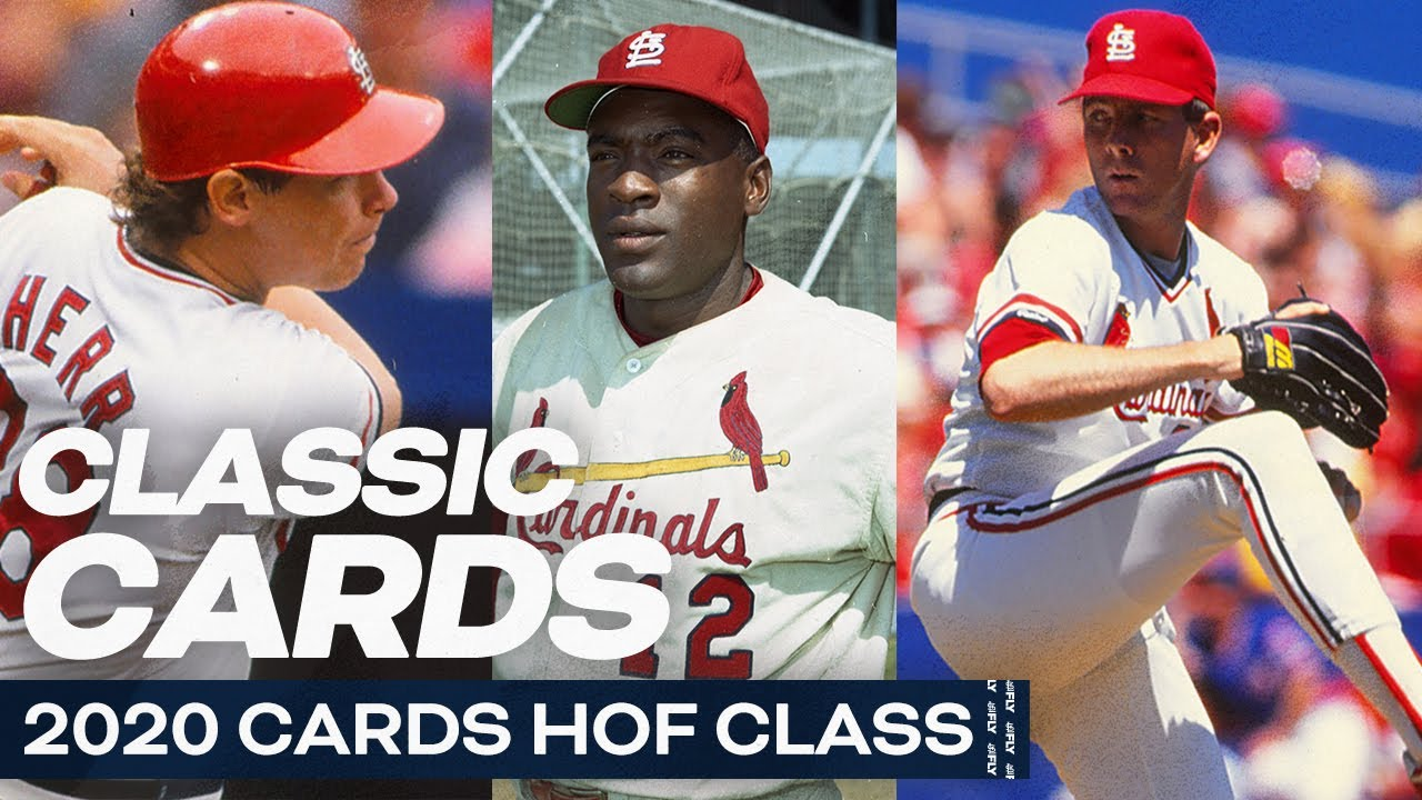 2020 Cards HOF Class | Career Memories