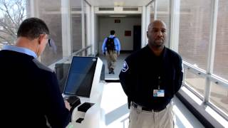 Airport E-Gate Demonstration by John Powers