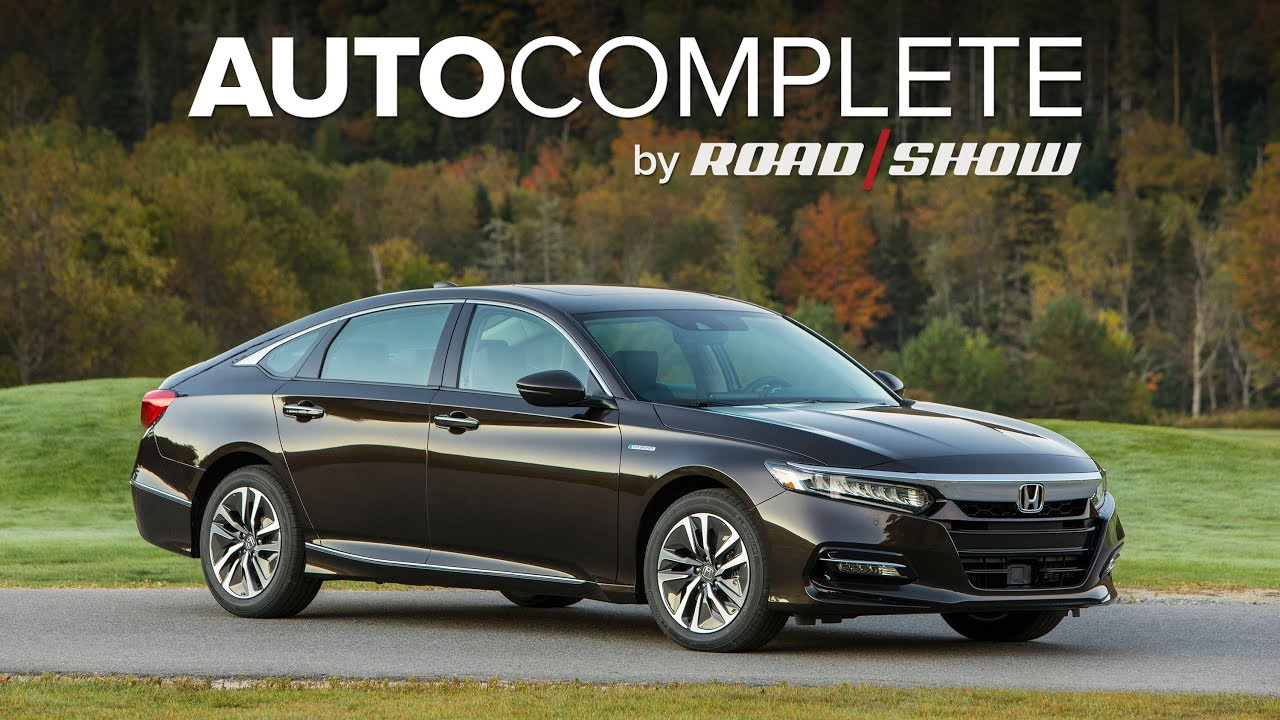 Autocomplete 2018 Honda Accord Hybrid Achieves 47 Mpg Combined