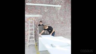 Assembling video wall panel (2M40 and more) - Casalis