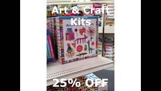 Arts & Crafts On Sale