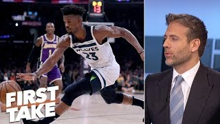 Jimmy Bulter should've been already traded from the Timberwolves - Max Kellerman | First Take