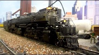 "HO Scale: Union Pacific ""Big Boy"" #4001 with Tsunami Sound"