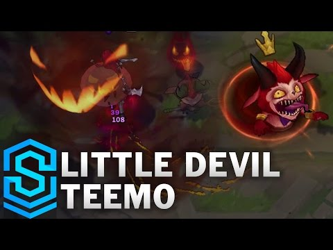 Little Devil Teemo Skin Spotlight - Pre-Release - League of Legends