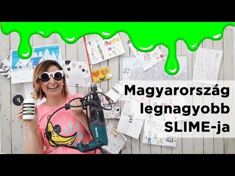 Magyarország legnagyobb slime-ja 😲😮🙈