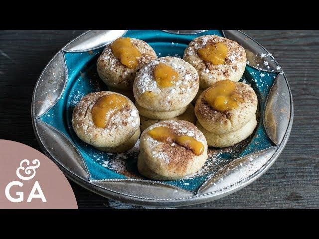 Tortas de queso dulces   Almojábanas