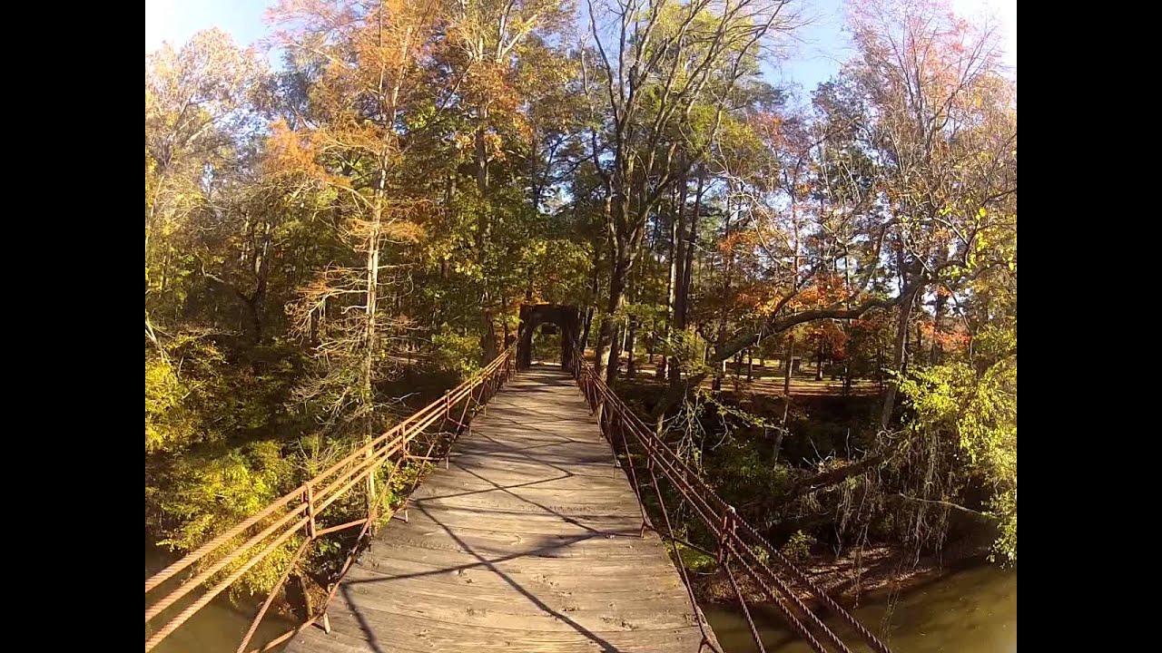 Swinging Bridge, Tishomingo state park - YouTube