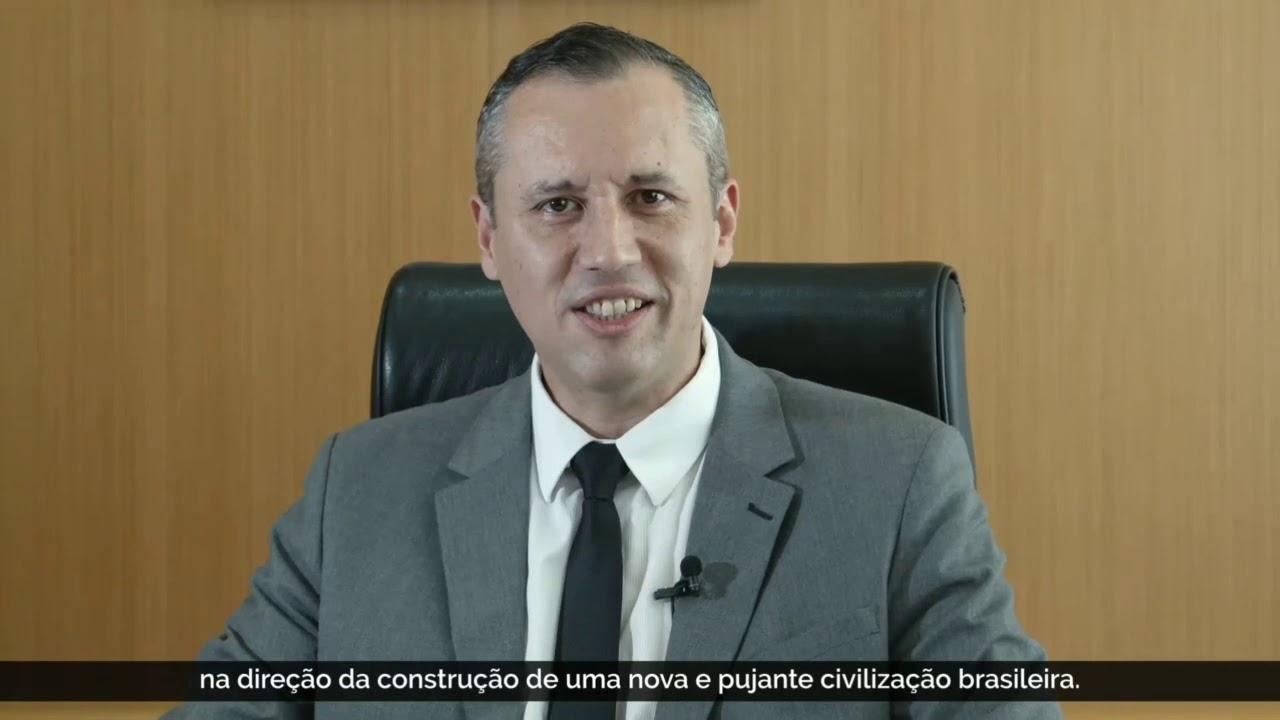 Pronunciamento do secretário especial da Cultura Roberto Alvim #RobertoAlvim #Cultura #Bolsonaro