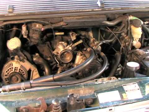 Spark Plugs On A 4 0 1996 Ford Aerostar Van Youtube