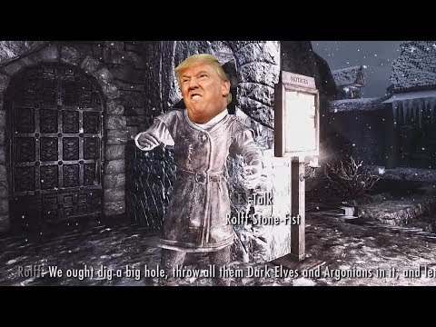 Skyrim's Depication of a Trump Supporter thumbnail