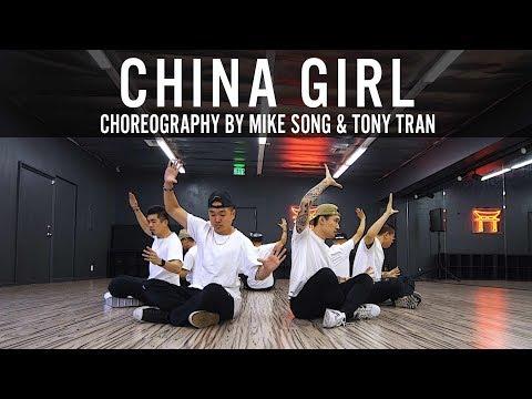 "DJ Cam ""China Girl"" Choreography by Mike Song & Tony Tran"