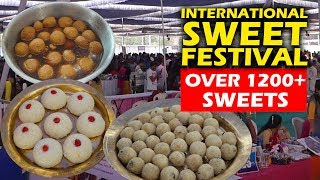 International Sweet Festival 1200+ Desserts at One Place