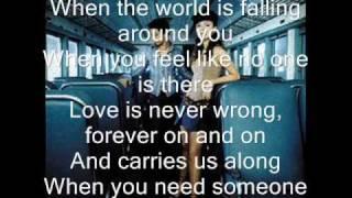 When You Need Somebody - Sandy e Junior (Legendado)
