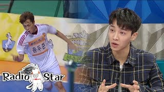 LeeGikwang In a Rage! Doojoon As Better Soccer Player Than Me..? [Radio Star Ep 556]