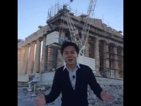 Live: Xinhua films first VR video of Acropolis, Athens