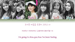 GFRIEND (여자친구) – NAVILLERA (너 그리고 나) (Color Coded Han|Rom|Eng Lyrics) | by Yankat