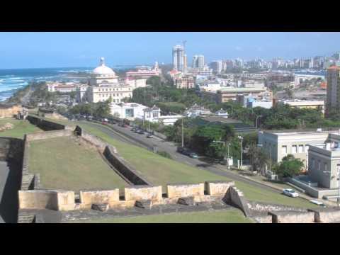 Puerto Rico - City and  Botanic garden in San Juan (2010)