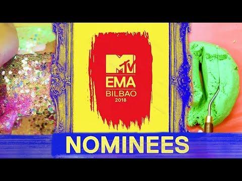 2018 MTV EMA Nominees ASMR Video!