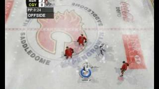 Rebuilt NHL 2004 (season 2009 updates) gameplay