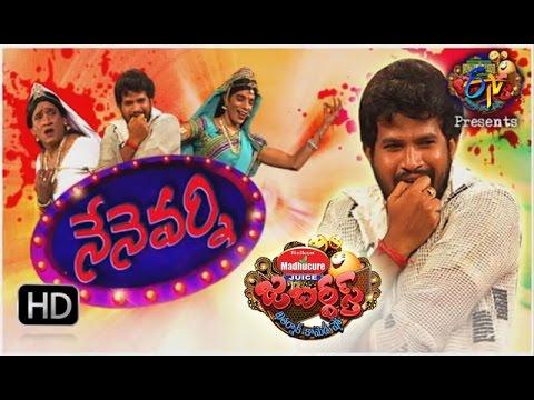 Jabardasth |10th November 2016 | Full Episode | ETV Telugu