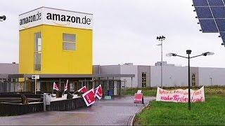ألمانيا: عمال مؤسسة أمازون في اضراب لمدة يومين