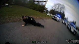 Officer Accidentally Hits Partner With Stun Gun