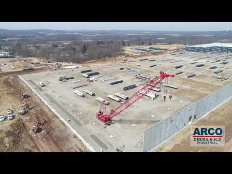 Warehouse construction site update 3-14-2019