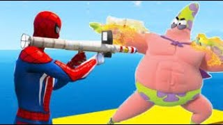 GTA 5 Water Ragdolls🔥 2020 PATRIK VS PINK SPIDERMAN VS Hulk Superhero Battle GTA 5 Euphoria Physics