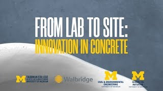 From Lab to Site: Innovation in Concrete (4/6)