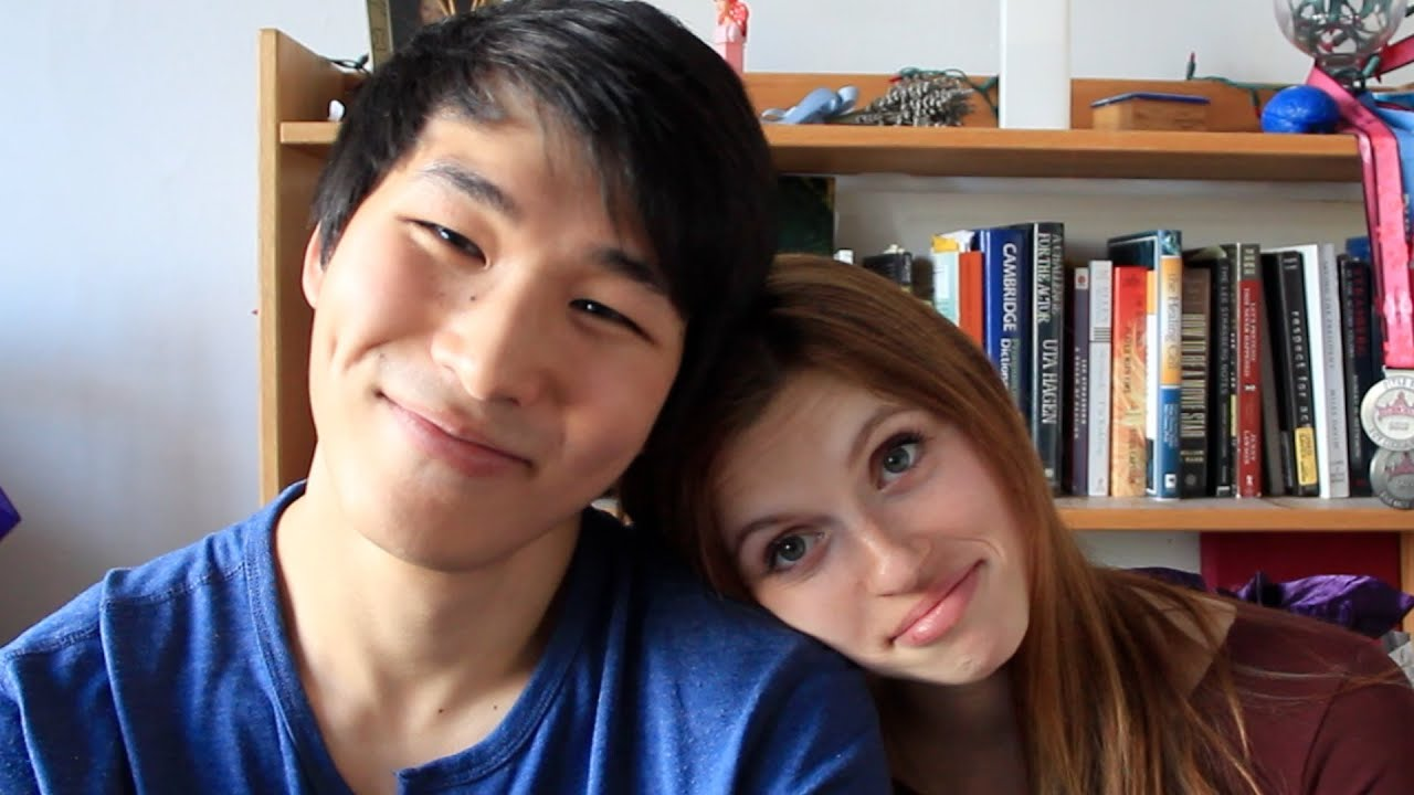 Asian man dating white girl