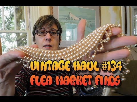 Diggin' with Dirty Girl S8E1 Vintage Haul #134: Flea Market Finds for Etsy & Ebay