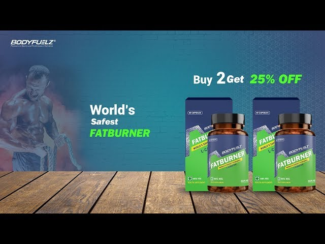 Don't wait to lose weight. Get BODYFUELZ FATBURNER straight!