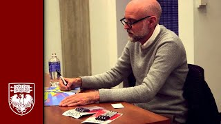 Daniel Clowes describes drawing his first cartoons