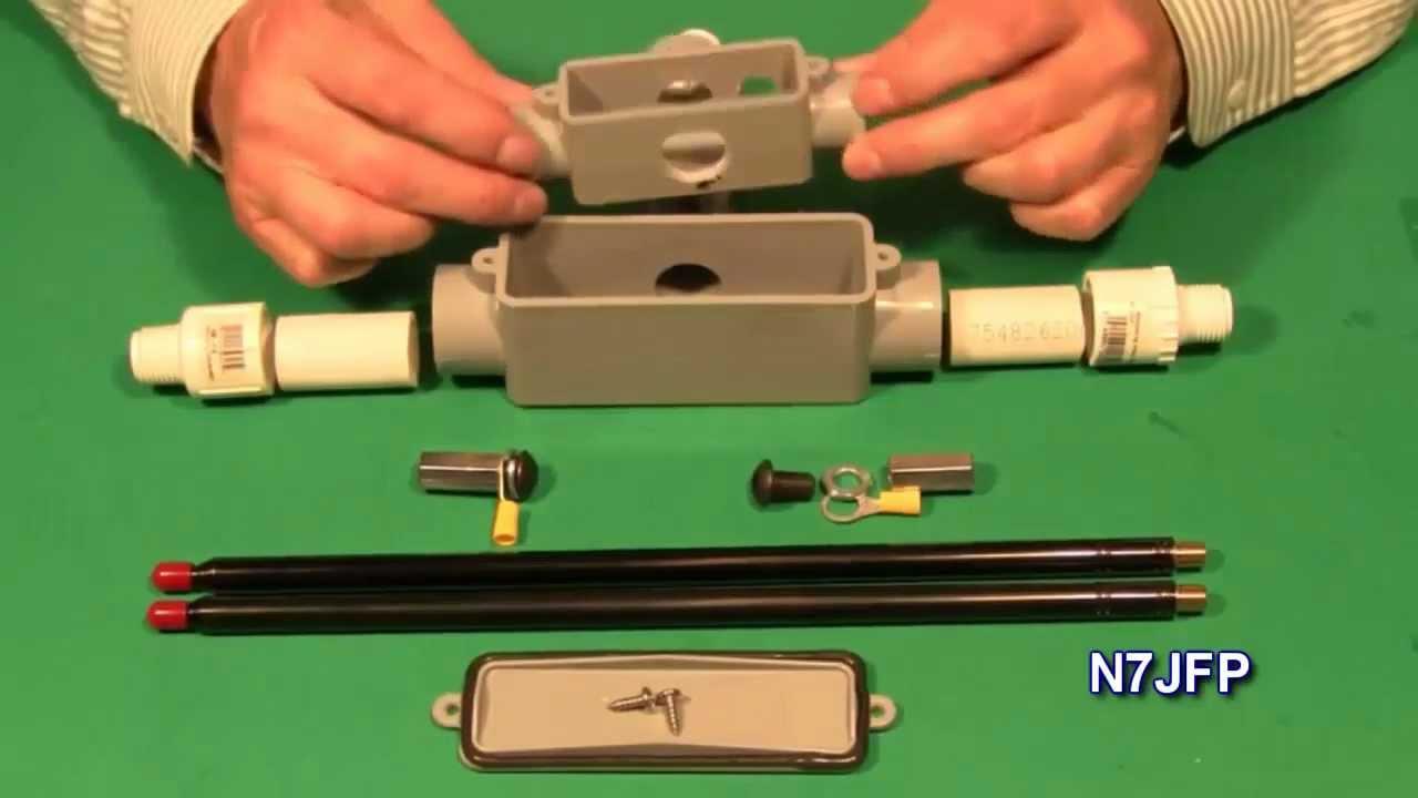 6 Meter Portable Dipole - N7JFP