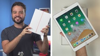 iPad tá mais barato que nunca!!    Ipad 6 geração ( 2018 ) - Unboxing