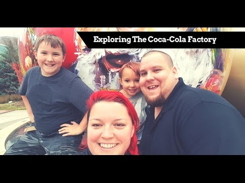 Taste Testing Sodas At The Coca-Cola Factory with The Brooke's