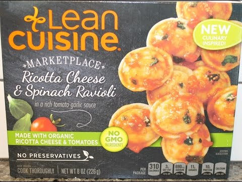 Lean Cuisine: Ricotta Cheese & Spinach Ravioli Review