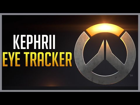 Check out Kephrii using a Tobii Eye Tracker in Overwatch
