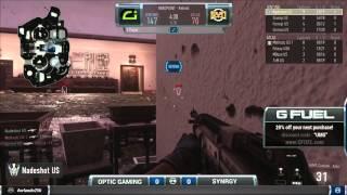 Optic Gaming  vs Synrgy  game 1 UMG Orlando 2015