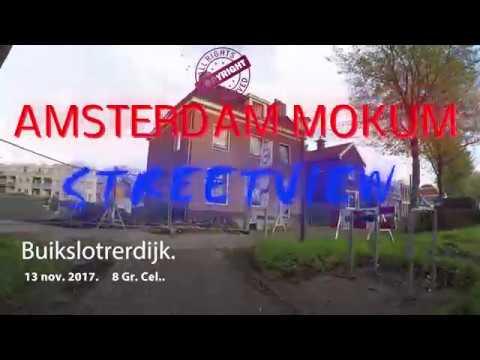 Amsterdam noord. .Buiksloterdijk Herfst 2017 .