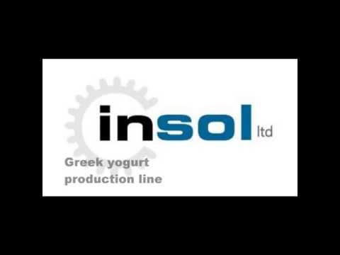 Insol Dairy Machinery - Greek Yogurt Production Line