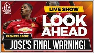 West Ham vs Man United Preview | MOURINHO'S Final Warning!