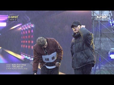 NCT U》 TEN - Baby Don't Stop (Rehearsal @ K-POP World Festa 2018