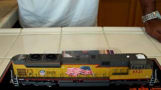 finally my review of the mth ho scale sd70ace part 1