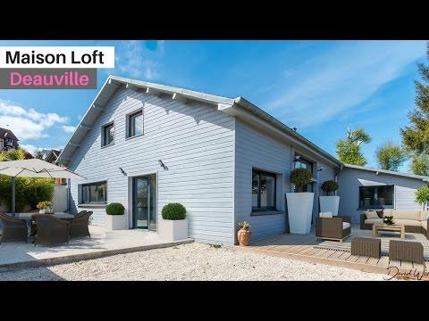 DEAUVILLE- Superbe Maison Loft à Vendre En Normandie