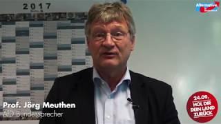 Prof. Dr. Jörg Meuthen Botschaft für Pirmasens