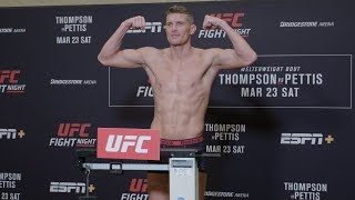 UFC Nashville: Official Weigh-in