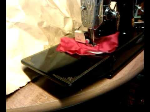 Walking Foot Attachment On Vintage 1941 Singer 221 Featherweight