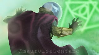 Speed Drawing Mysterio from Spider-Man Far From Home (Jake Gyllenhaal)