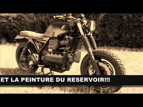 Modif Bmw K1100rs K100 En Cafe Racer Scrambler Bratstyle Youtube